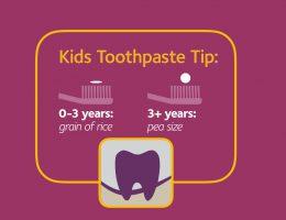 Kid's Toothpaste Tip